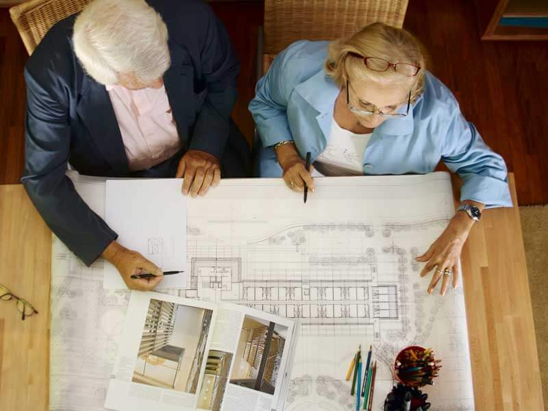 Image of senior architects